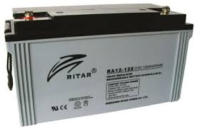 RITAR AGM 12V 120Ah - F12 Deep Cycle