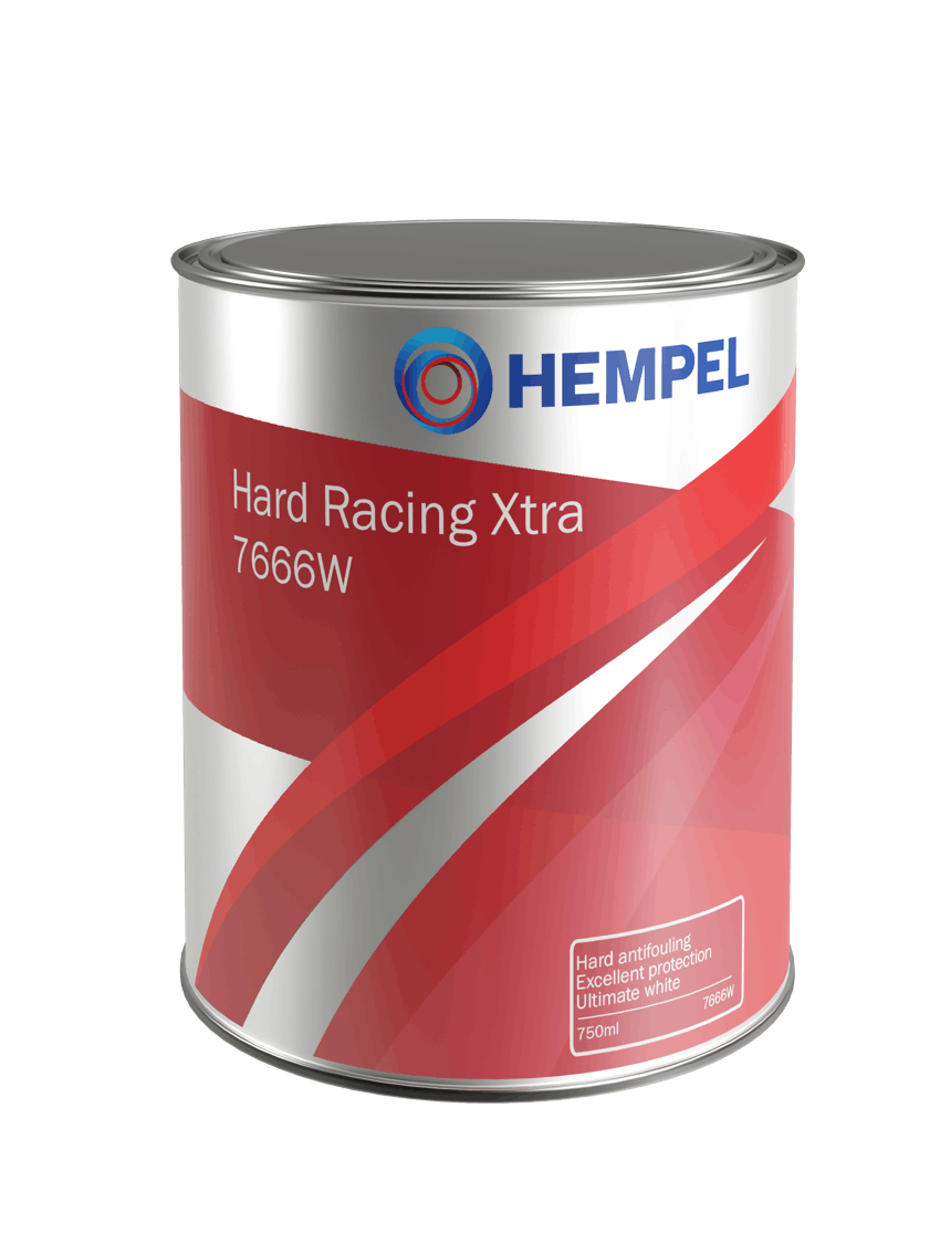 HEMPEL Hard Racing Xtra Antifoul.maali 750ml Red