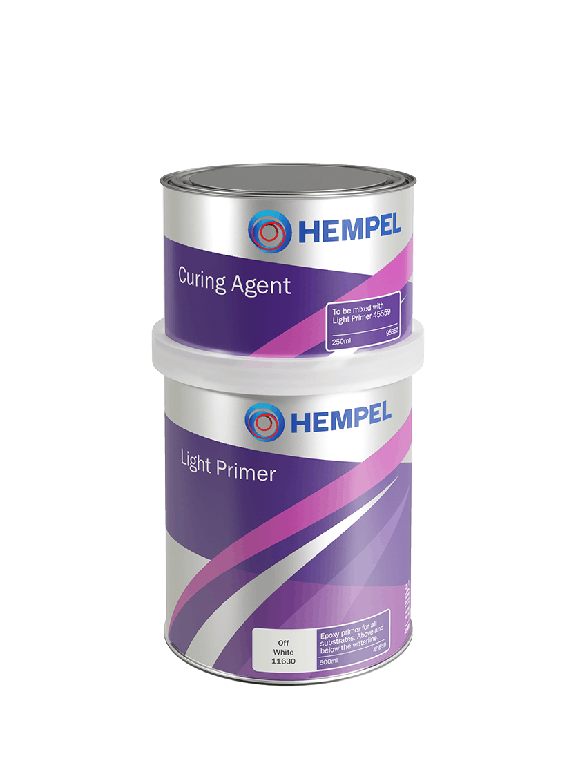 HEMPEL Light primer 750ml Stone Grey