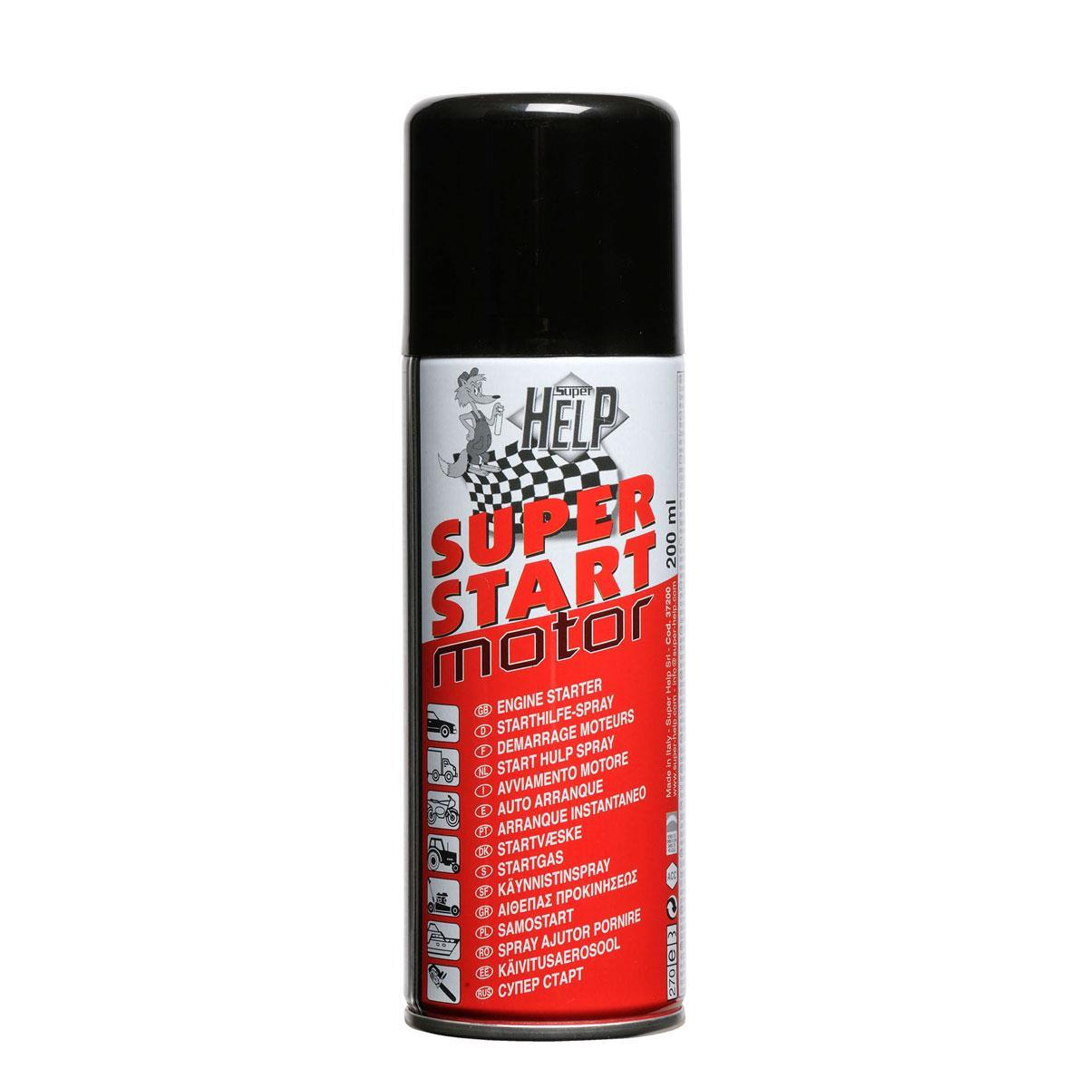 SuperHELP Motor Starter 200ml - Käynnistysspray
