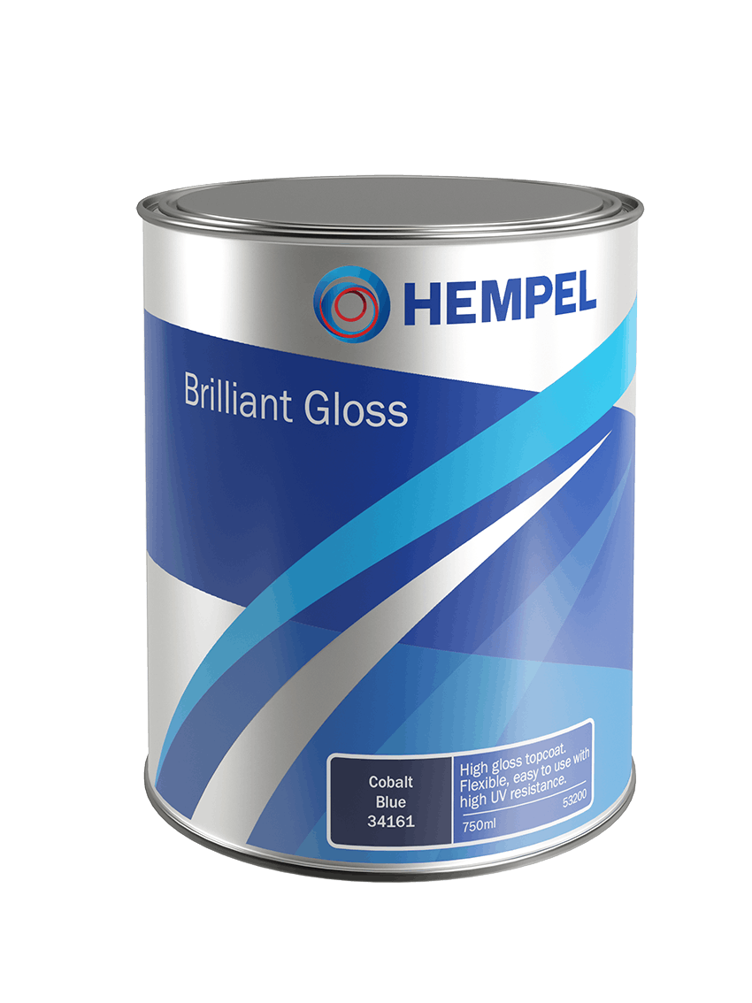 HEMPEL BRILLIANT GLOSS Pale Grey 0,75L