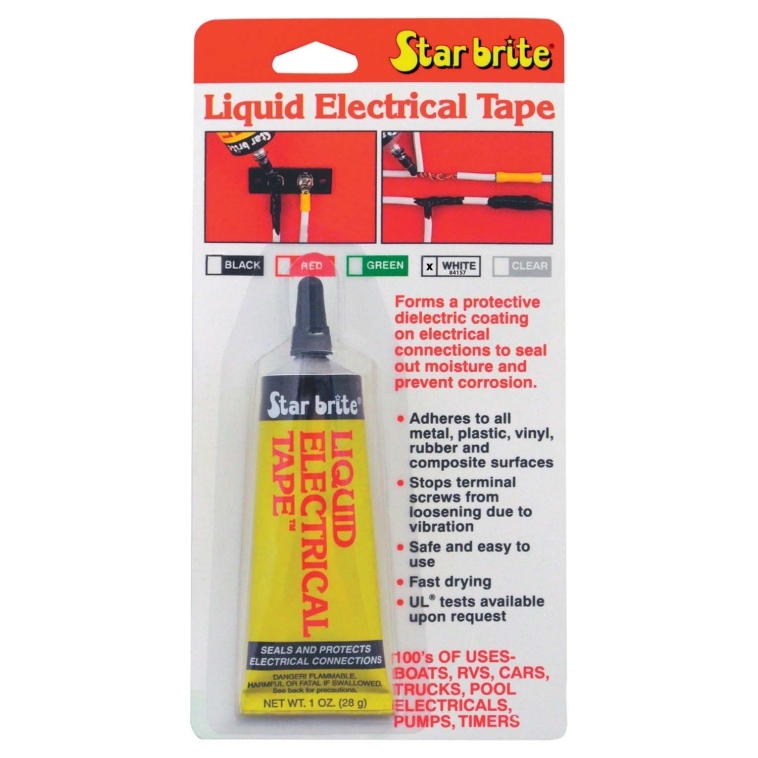 STARBRITE LIQUID TAPE WIRE COATING MUSTA 28g