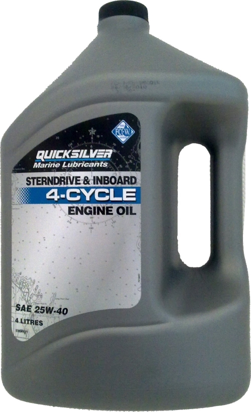 QS 4-CYCLE MINERAL ENGINE OIL SAE 25W-40 4L